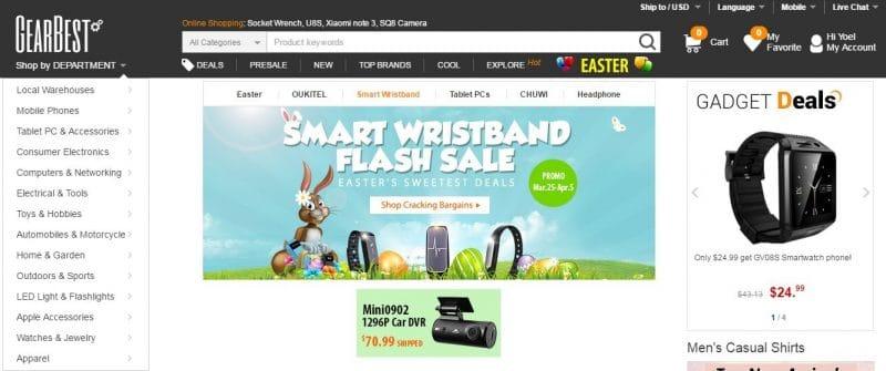 Comprar en GearBest