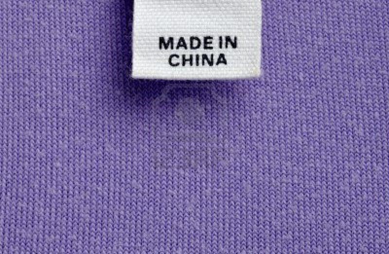ropa de china