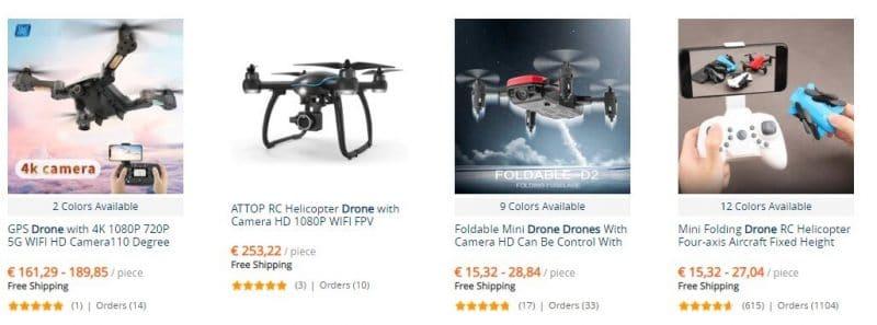 drones baratos y buenos