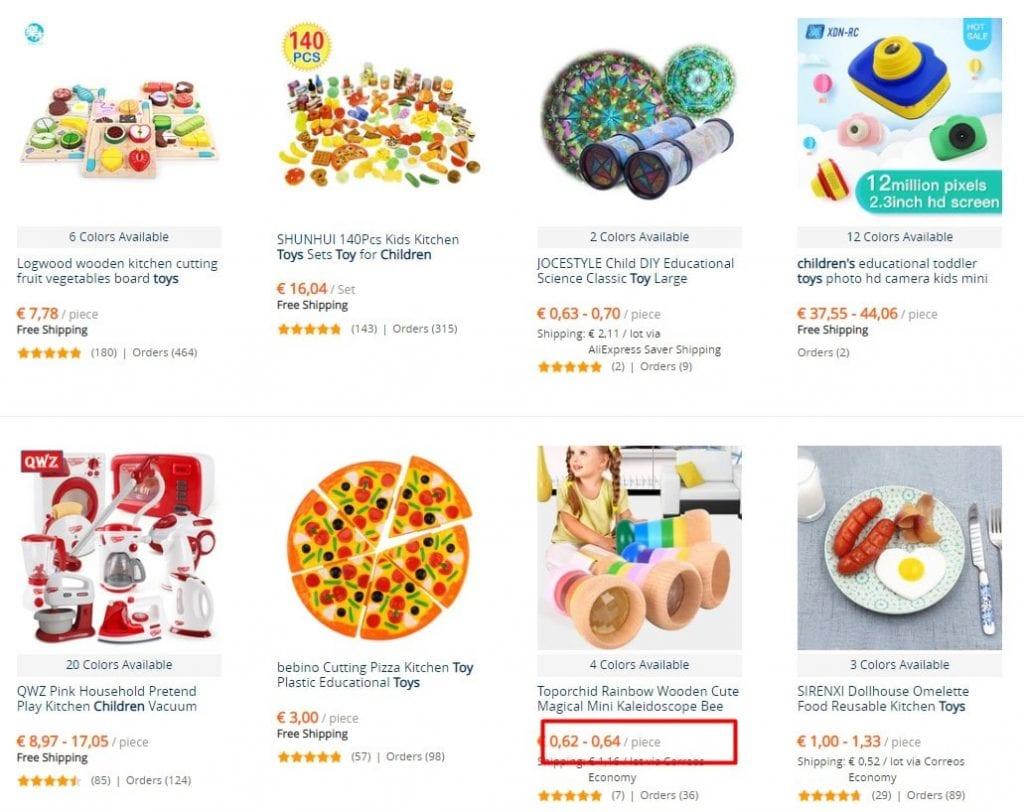 juguetes al por mayor economicos