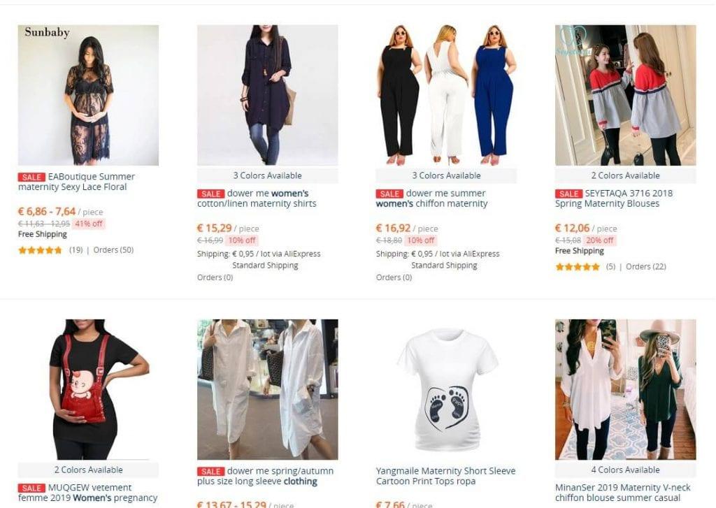 ropa mujer barata