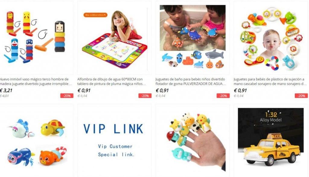 juguetes baratos en aliexpress