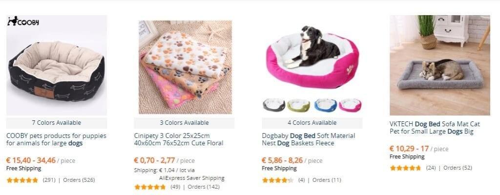 camas baratas para perro