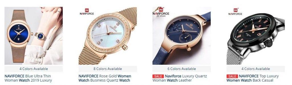 relojes naviforce mujer