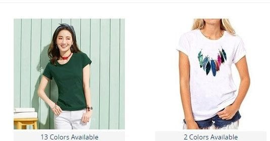 comprar china camisetas