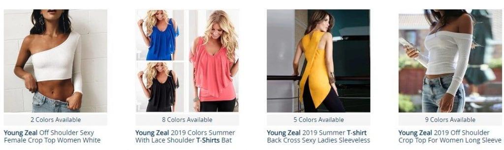 camiseta verano mujer aliexpress