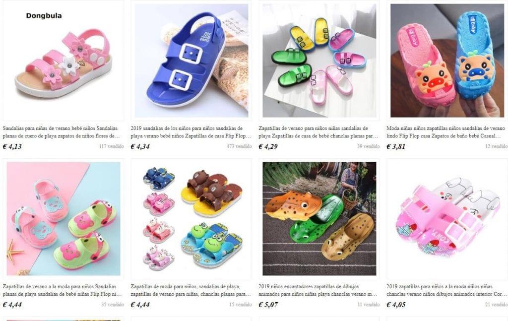 comprar zapatillas para niños baratas