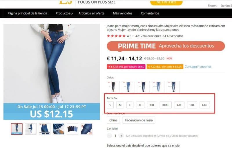 pantalones tallas grandes para mujer baratos