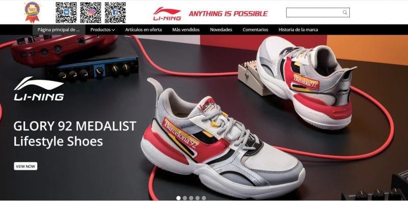 Tienda de zapatillas deportivas aliexpress