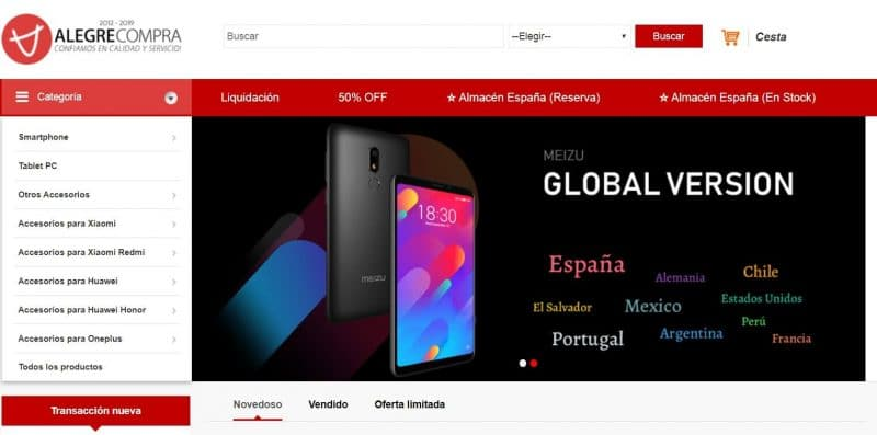 Comprar Móviles Chinos desde España