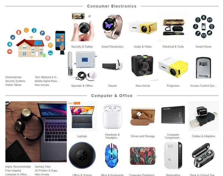 gadgets baratos en LightInTheBox