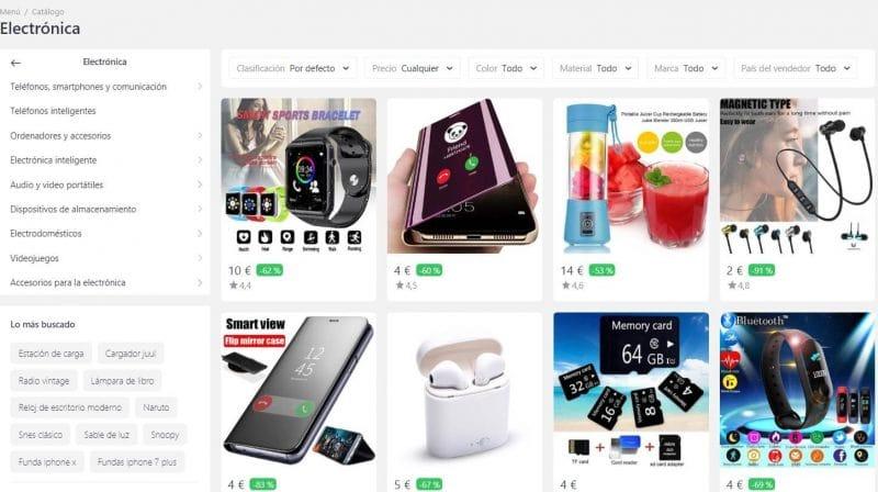 gadgets baratos joom