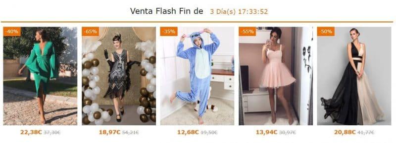 ofertas flash de ropa