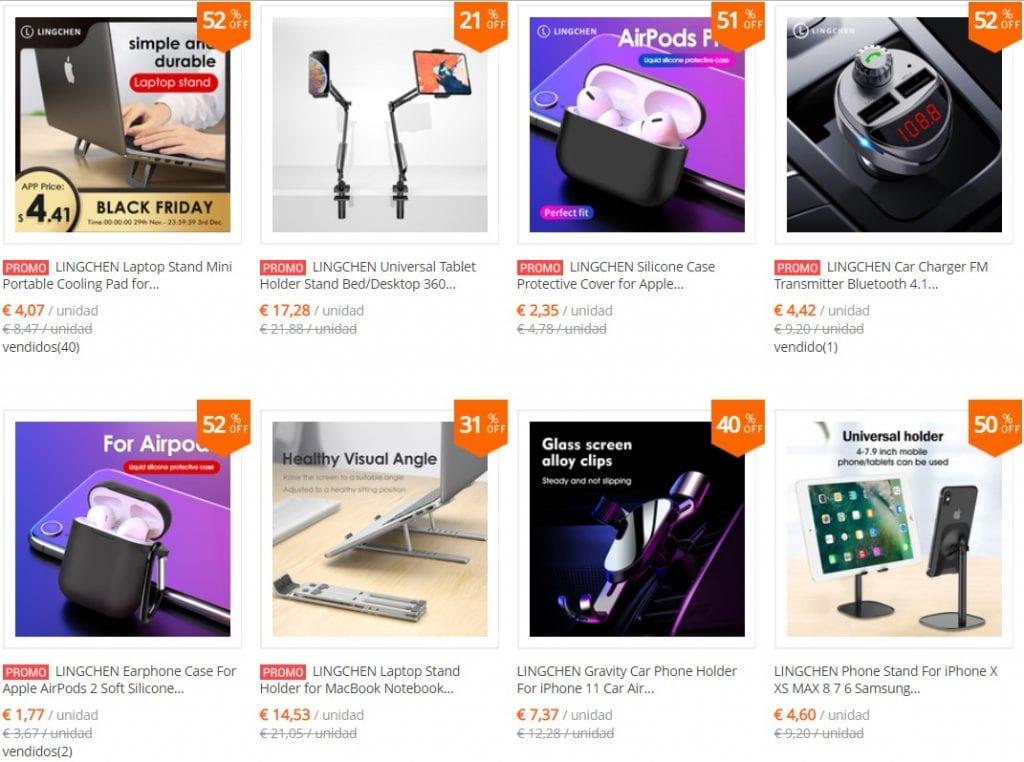 accesorios para moviles y tablets