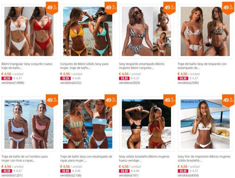 bikinis baratos aliexpress