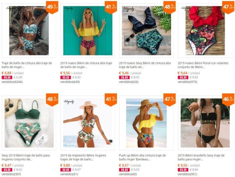 bikinis baratos para niñas