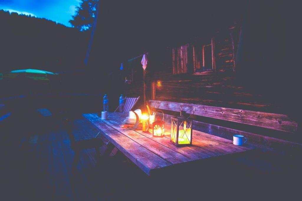 luces de exterior