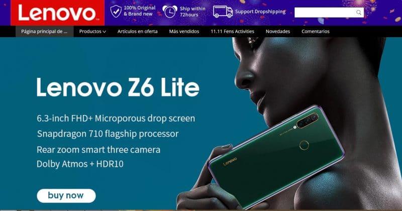 comprar Lenovo aliexpress