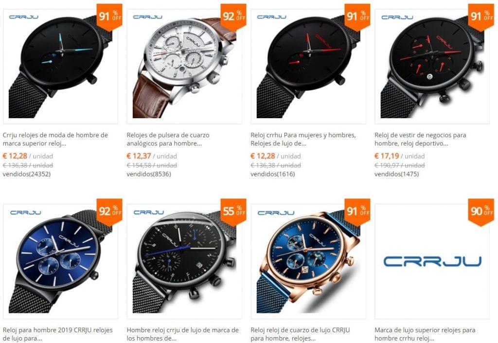 relojes baratos en aliexpress