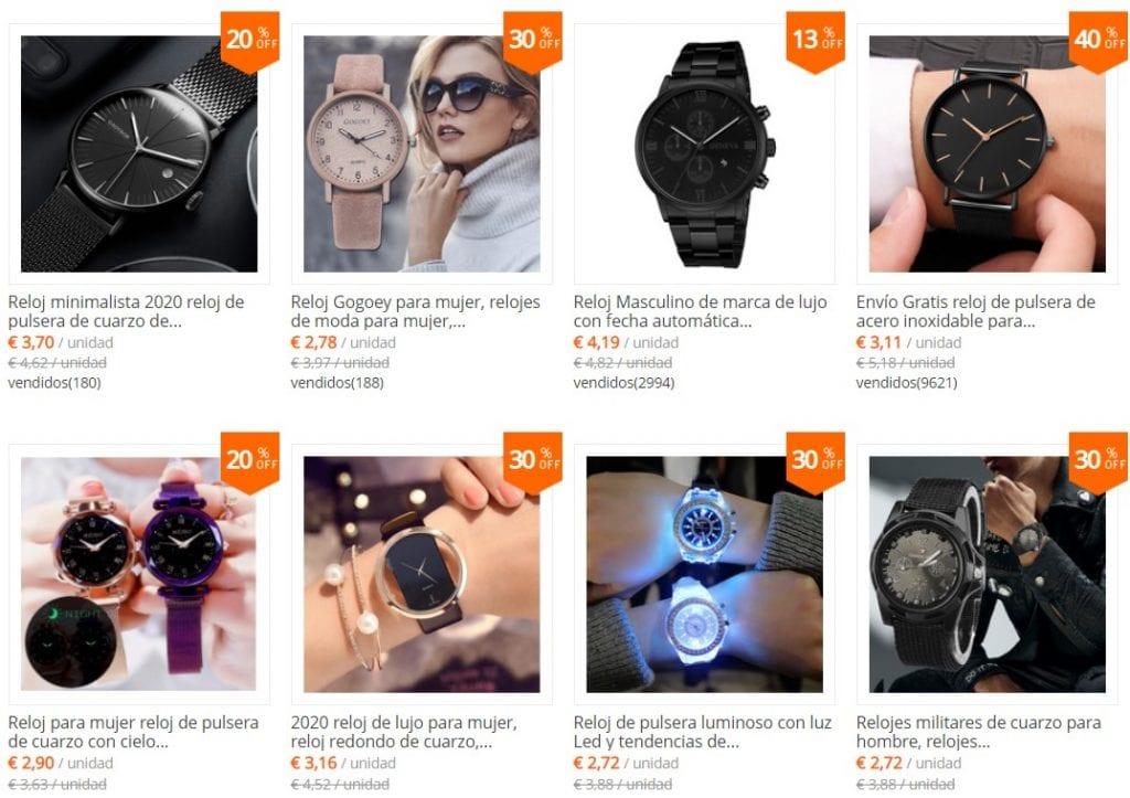 PLUOYO Tienda de relojes