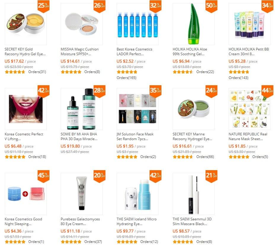 productos cosmeticos coreanos