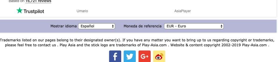 play asia español