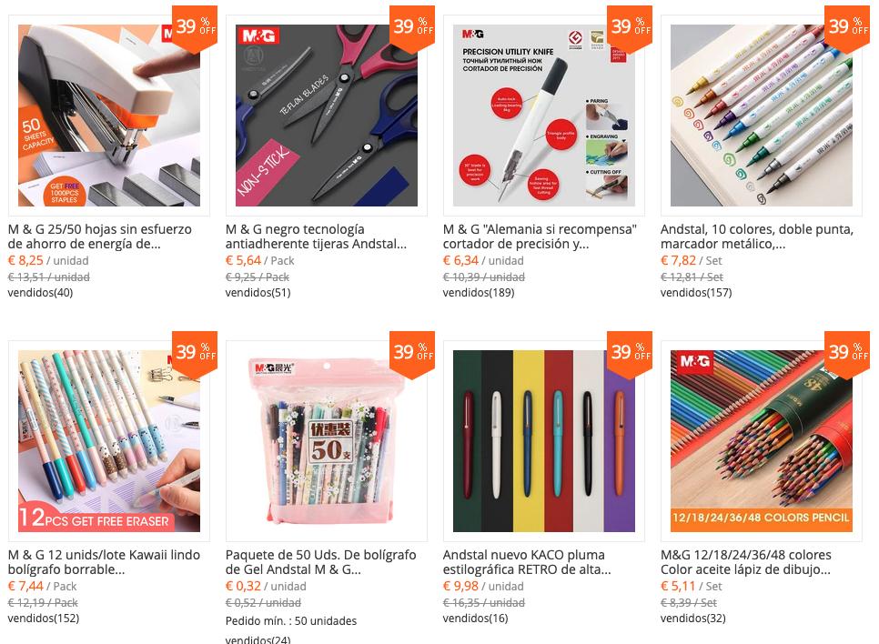 tienda de materiales para dibujar