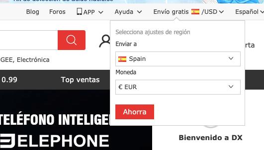 DealExtreme en español