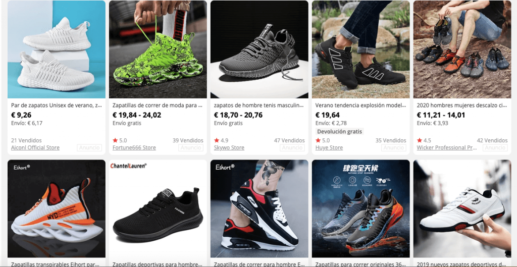 361° zapatillas de deporte chinas