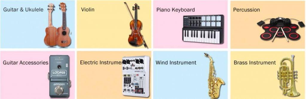 Instrumentos y herramientas musicales