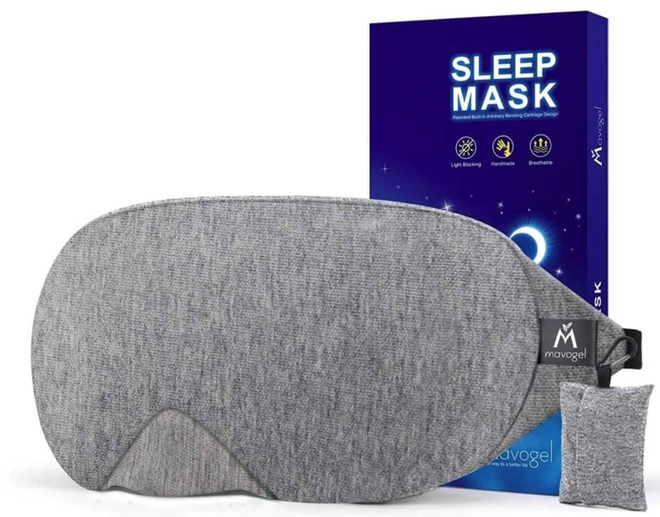 Antifaz para dormir de algodón