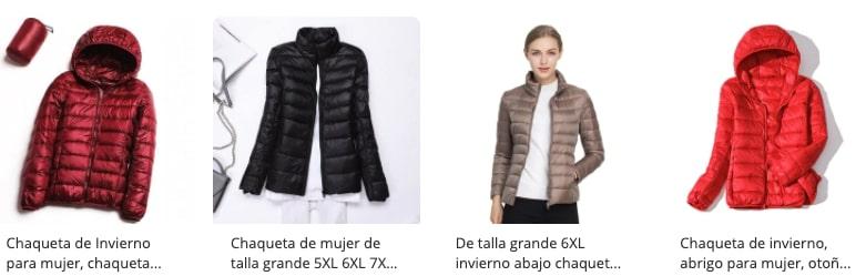 chaquetas para mujer aliexpress