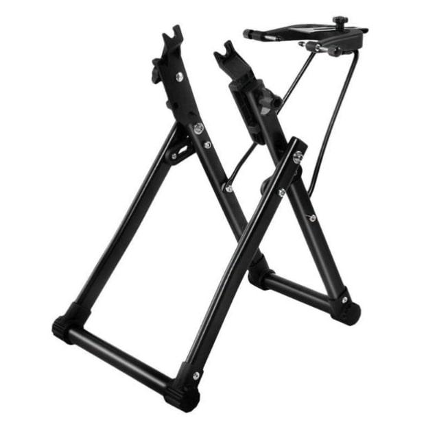 Centrador mecánico para bicicletas de montaña