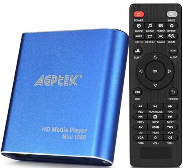 AGPTEK MKV Media Player – Streaming Digital