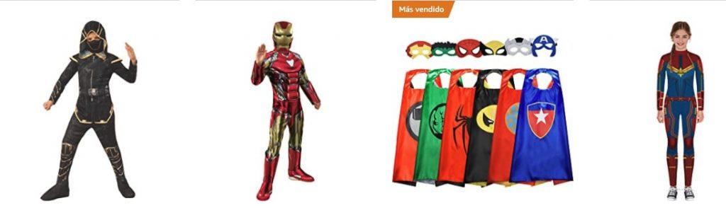 Disfraces de Superhéroes Marvel
