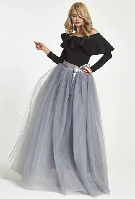 falda de tul de Folobe
