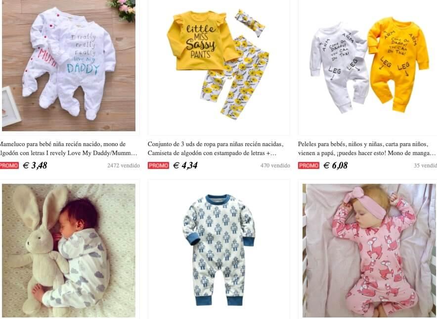 tienda ropa bebe