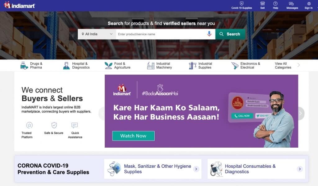tienda IndiaMart