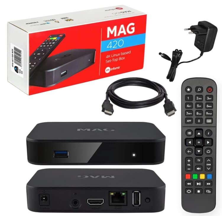 reproductor multimedia MAG 420