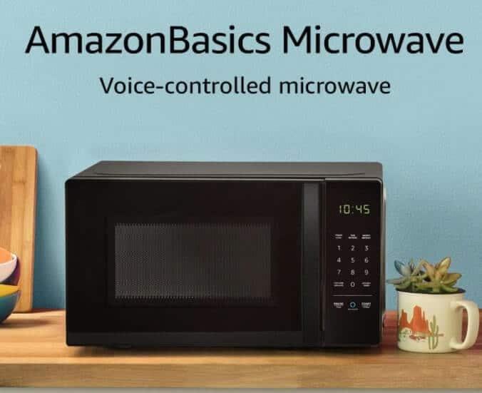 microondas compatible con alexa