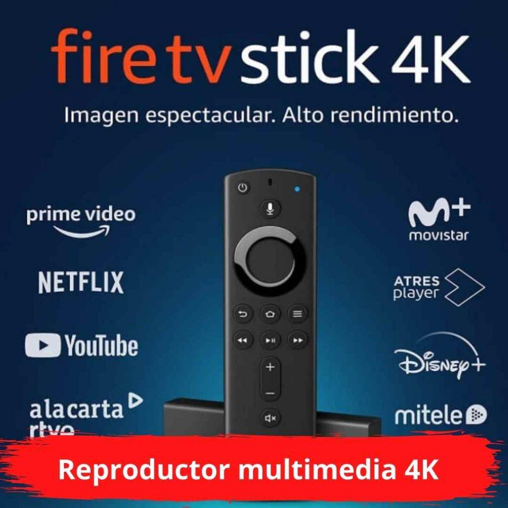 Reproductor multimedia 4K