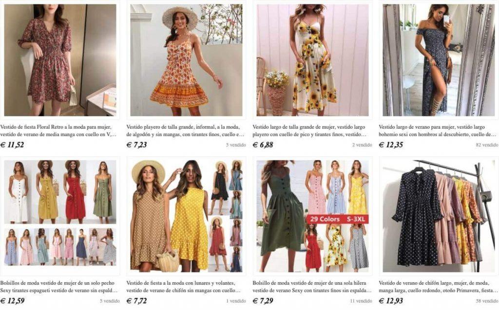comprar tus vestidos de fiesta