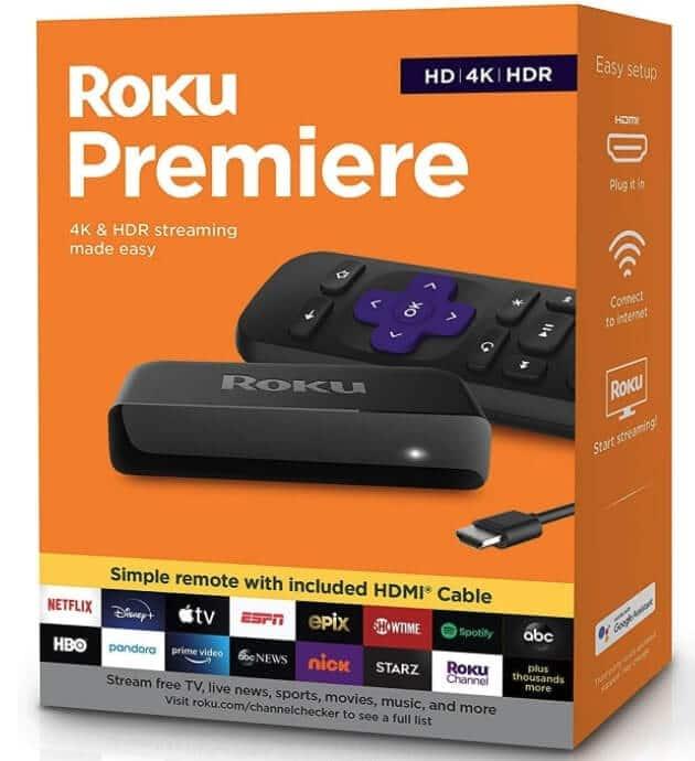 Roku Premiere HD/4K/HDR
