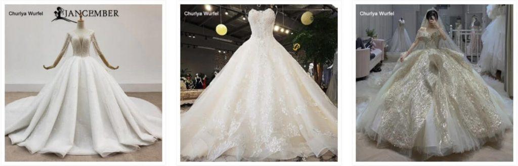 vestido de novia en aliexpress online