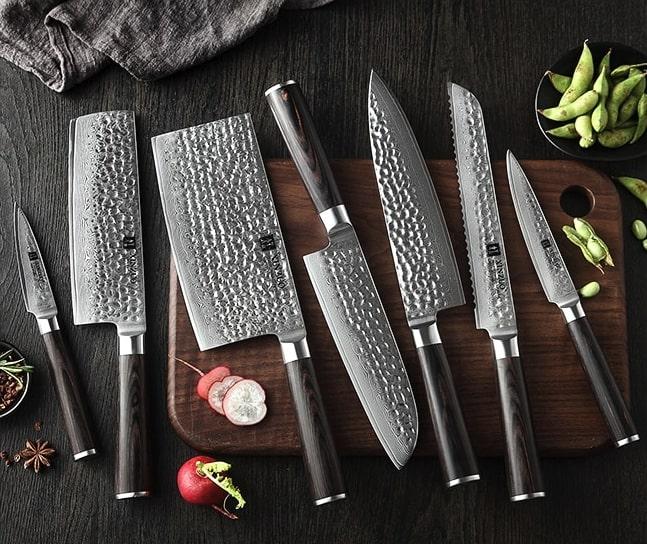 cuchillos XINZUO