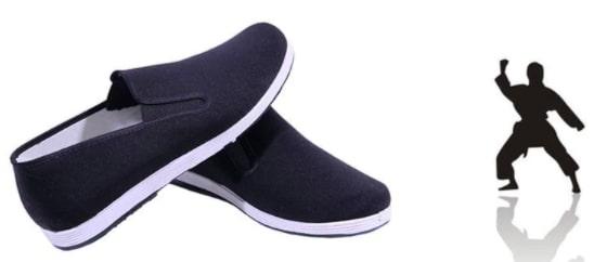 Zapatillas de Kung fu chino tradicional