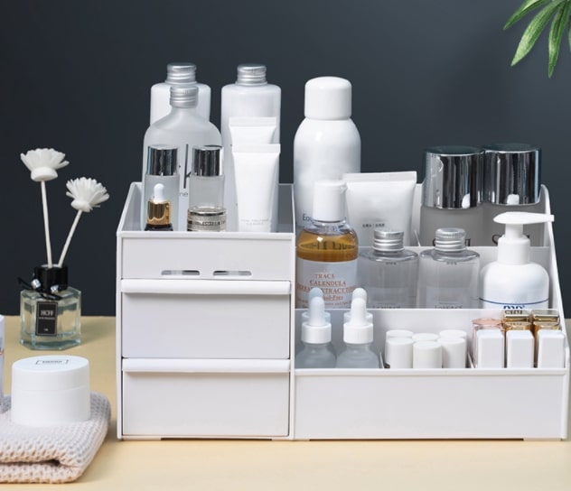 almacenamiento de cosméticos