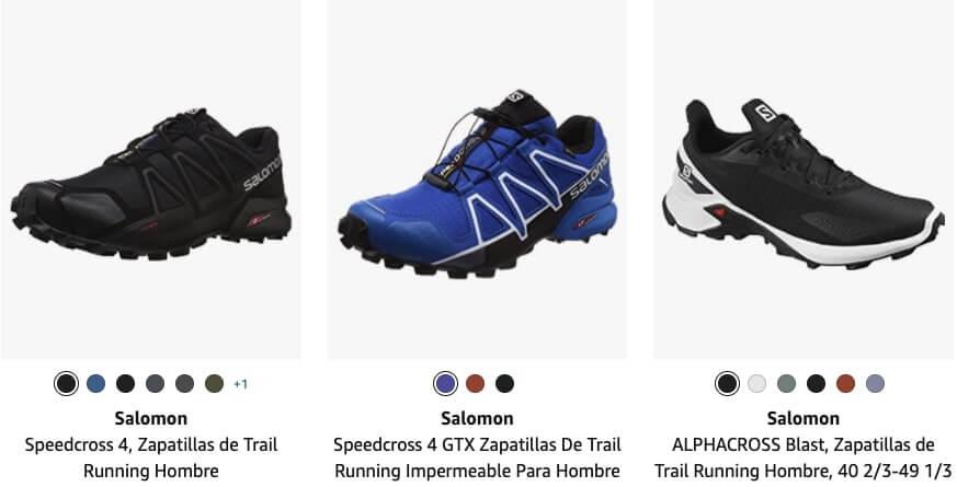 amazon zapatillas salomon