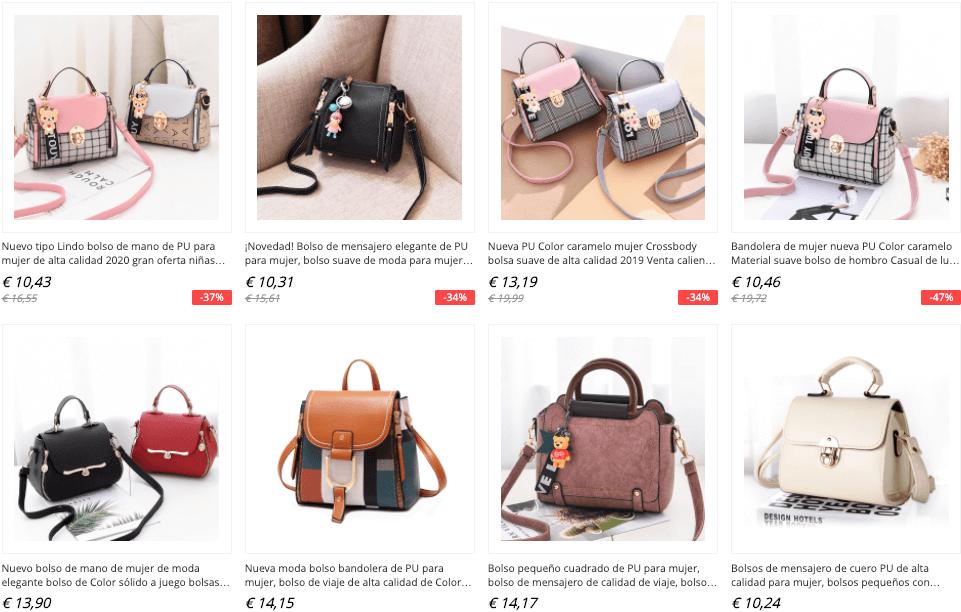 bolsos y carteras aliexpress