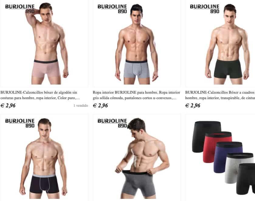 boxer ropa interior
